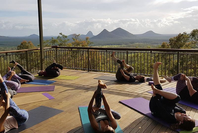 Yoga retreats at Uluramaya
